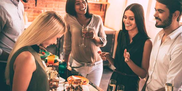 Celebraciones de familiares y amigos