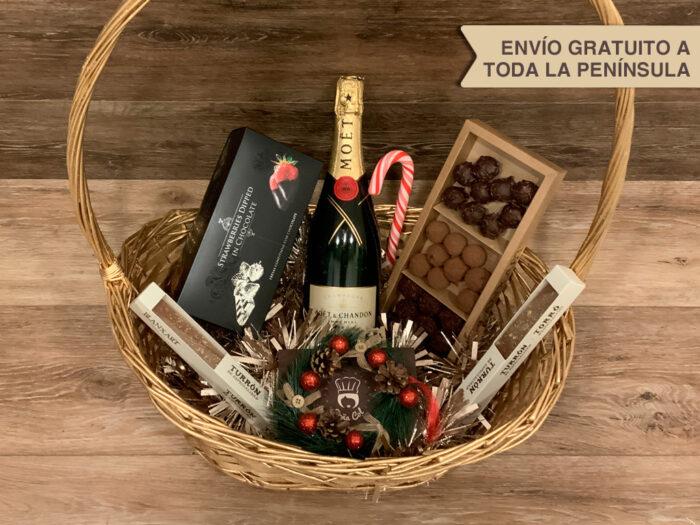 Cestas a domicilio Zaragoza Catering Doña Col Christmas Navidad Two