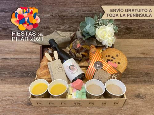 Desayunos a domicilio Zaragoza Fiestas del Pilar Catering Doña Col