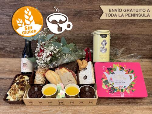 Desayunos a domicilio Zaragoza Premium Tea Catering Doña Col.
